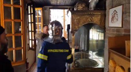 Πήρε φωτιά από τα κεριά εκκλησία στην Κοζάνη