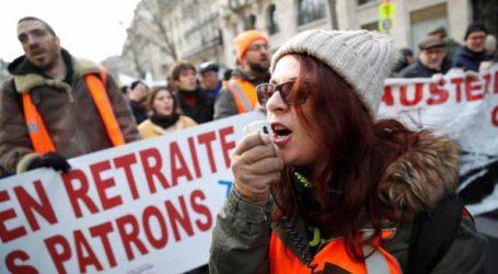 Διαδηλώσεις στο Παρίσι και άλλες μεγάλες πόλεις ενάντια στη μεταρρύθμιση του συνταξιοδοτικού συστήματος