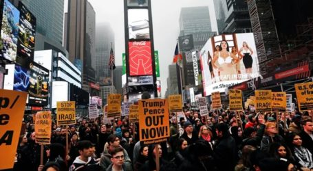 Αντιπολεμικές διαδηλώσεις στις ΗΠΑ