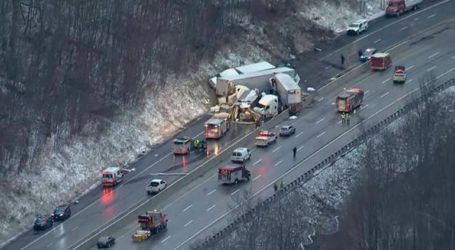 Πέντε νεκροί σε καραμπόλα στην Πενσυλβάνια
