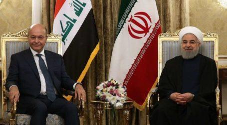 Ο πρόεδρος του Ιράκ συλλυπήθηκε τον Ροχανί και ζήτησε «αυτοσυγκράτηση και σωφροσύνη»
