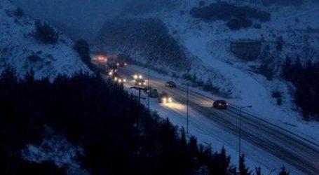 Χιονόπτωση στη Φθιώτιδα – Πού χρειάζονται αλυσίδες