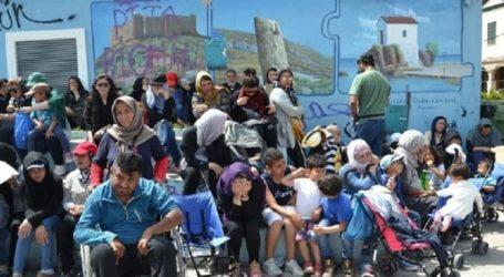 Συγκέντρωση διαμαρτυρίας για το προσφυγικό-μεταναστευτικό στο λιμάνι της Σάμου