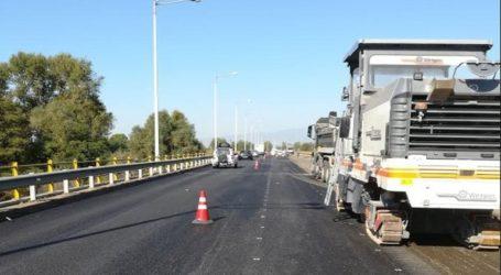 Εργασίες συντήρησης σε διάφορα σημεία του εθνικού οδικού δικτύου