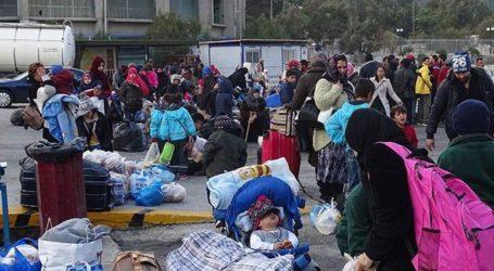 Μαζική συγκέντρωση στη Σάμο με αίτημα την αποσυμφόρηση των νησιών από τους πρόσφυγες