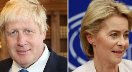 Συνάντηση Τζόνσον με την πρόεδρο της Κομισιόν σήμερα στο Λονδίνο