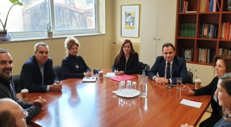 Eπίσκεψη Γεωργαντά στο Εθνικό ίδρυμα Κωφών