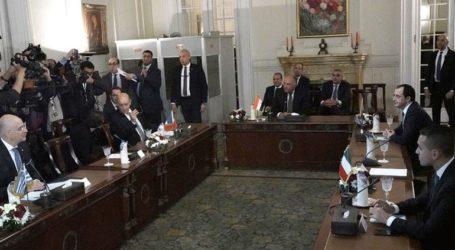 Ολοκληρώθηκε η πενταμερής συνάντηση ΥΠΕΞ Ελλάδας, Κύπρου, Αιγύπτου, Γαλλίας και Ιταλίας στο Κάιρο