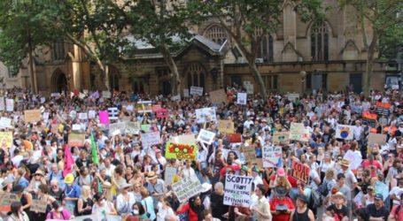 Διαδηλώσεις κατά της αδράνειας της κυβέρνησης για την κλιματική αλλαγή