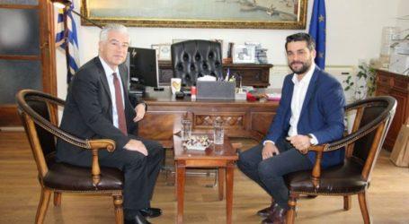 Eπίσκεψη του Πρέσβη της Γερμανίας στο Δημαρχείο Χανίων