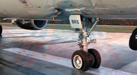 Τρύπησε το δάπεδο ρωσικού επιβατικού αεροσκάφους