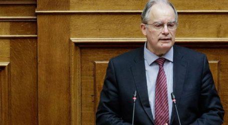 Συλλυπητήρια του προέδρου της Βουλής για την απώλεια του Απόστολου Σταύρου