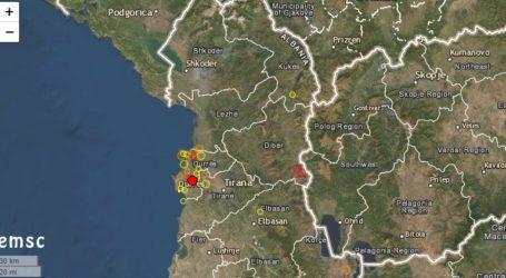 Σεισμός 3 Ρίχτερ στην Αλβανία