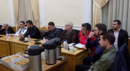Συνεδρίαση του Συντονιστικού Οργάνου Πολιτικής Προστασίας για το σχέδιο αντιμετώπισης έκτακτων αναγκών