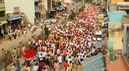 Διαδήλωση ινδουιστών με αφορμή την κατασκευή ενός γιγαντιαίου αγάλματος του Χριστού στην Καρνατάκα
