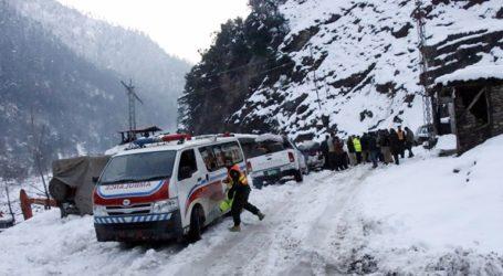 Ζωντανή βρέθηκε 12χρονη που παρέμεινε θαμμένη κάτω από το χιόνι για 18 ώρες