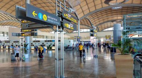 Εκκενώθηκε λόγω πυρκαγιάς το αεροδρόμιο του Αλικάντε