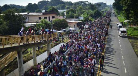 Ένα νέο καραβάνι μεταναστών αναχώρησε με την ελπίδα να φθάσει στις ΗΠΑ