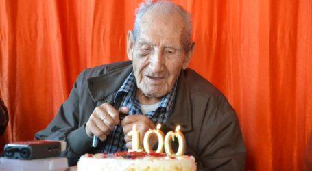 Αυτόπτης μάρτυρας της ναζιστικής θηριωδίας στον Β' Παγκόσμιο Πόλεμο γιόρτασε τα 100α γενέθλιά του