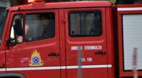 Πυρκαγιά σε εγκαταλελειμμένο κτήριο στο Γκάζι