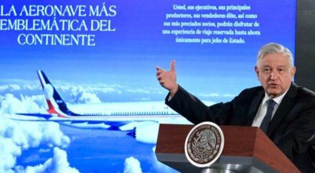Ο πρόεδρος Ομπραδόρ εξετάζει τη λαχειοφόρο αγορά για το αεροσκάφος του προκατόχου του
