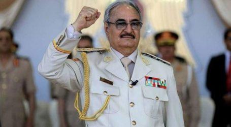 Έφτασε στο Βερολίνο για τη Διάσκεψη για τη Λιβύη ο Χαλίφα Χαφτάρ