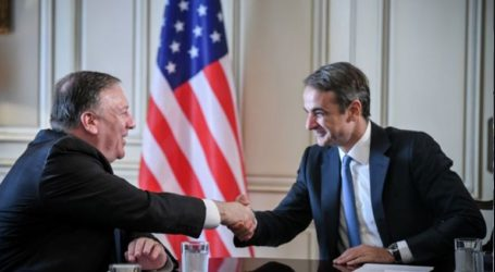 Επιστολή στήριξης της Ελλάδας από τον Πομπέο προς τον Έλληνα πρωθυπουργό