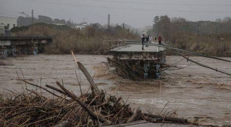 Γαλλία: Δύο ποταμοί υπερχείλισαν από την καταιγίδα Γκλόρια