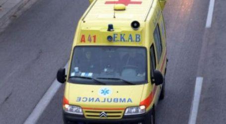 Συναγερμός στο ΕΚΑΒ για τραυματισμό σε εργοστάσιο στη ΒΙ.ΠΕ. Λαμίας