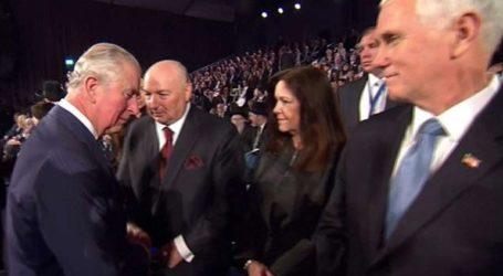Ο πρίγκιπας Κάρολος δεν σνόμπαρε τον αντιπρόεδρο των ΗΠΑ στην τελετή για το Ολοκαύτωμα, διαβεβαιώνουν τα ανάκτορα
