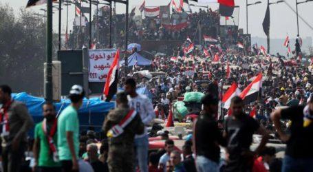 Μεγάλη διαδήλωση στη Βαγδάτη με αίτημα την αποχώρηση των αμερικανικών δυνάμεων