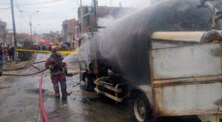 Τουλάχιστον οκτώ νεκροί και δεκάδες τραυματίες από έκρηξη βυτιοφόρου λόγω διαρροής αερίου