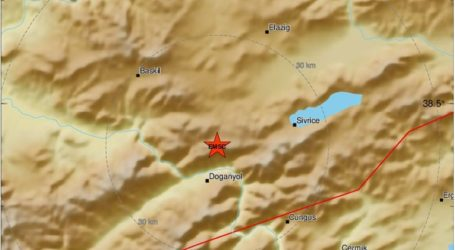 Ισχυρή σεισμική δόνηση μεγέθους 6,8 Ρίχτερ στη νοτιοανατολική Τουρκία