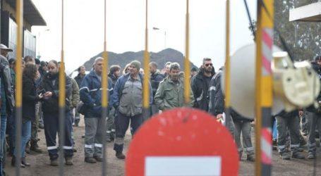 Συλλαλητήριο εργαζομένων της ΛΑΡΚΟ στην Αθήνα