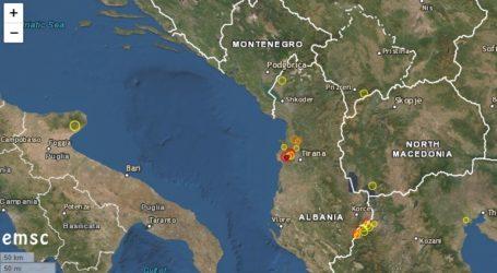 Σεισμός 3,7 Ρίχτερ στην Αλβανία
