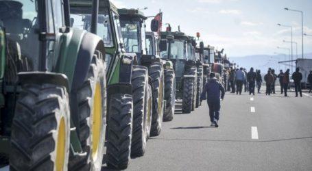 Αγροτικό συλλαλητήριο με τρακτέρ στην Καρδίτσα