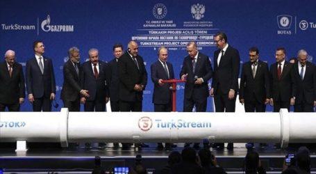 H Ρώσικη Gazprom άρχισε να στέλνει φυσικό αέριο στον Τurkish Stream και την Τουρκία
