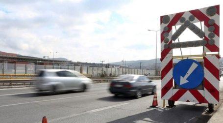 Προσωρινές κυκλοφοριακές ρυθμίσεις στον κόμβο Κιάτου
