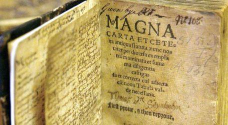 Ένας άνδρας κατηγορείται ότι αποπειράθηκε να κλέψει αντίγραφο της Μάγκνα Κάρτα