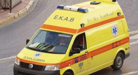 Απεγκλωβισμός τραυματία οδηγού σε σοβαρό τροχαίο στη Μεσσαρά