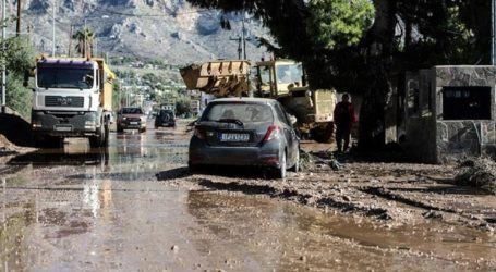 Στα 6,4 εκατ. ευρώ ανέρχεται το ύψος των ζημιών από τον «Γηρυόνη»