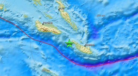 Σεισμός 6 Ρίχτερ στα Νησιά Σολομώντα