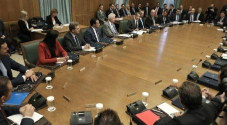 Σε εξέλιξη βρίσκεται η συνεδρίαση του υπουργικού συμβουλίου