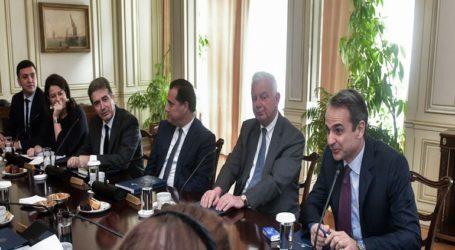 Σε ποιους υπουργούς έδωσε συγχαρητήρια ο Μητσοτάκης