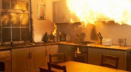 Στις φλόγες κουζίνα σπιτιού στα Χανιά