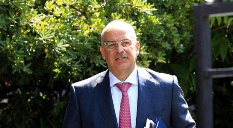 Συνάντηση Δένδια με τον πρέσβη της Τυνησίας