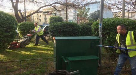 Δράσεις καθαριότητας σε Κυψέλη, Κουκάκι, Παγκράτι από τον Δήμο Αθηναίων