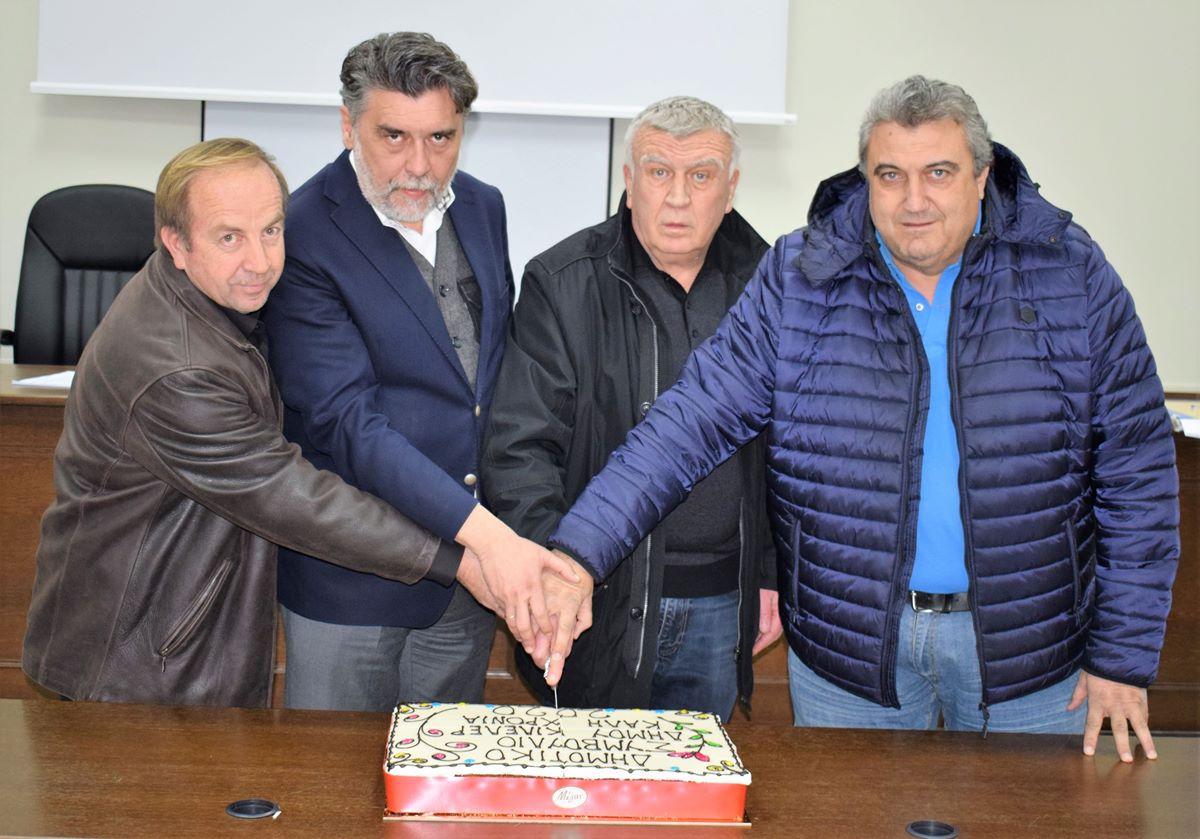 Έκοψε την Πρωτοχρονιάτικη πίτα το Δημοτικό Συμβούλιο του Δήμου Κιλελέρ