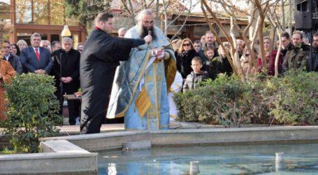 Με θρησκευτική μεγαλοπρέπεια έγινε ο καθαγιασμός των υδάτων στο Δήμο Κιλελέρ