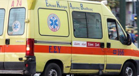 Δύο τραυματίες από εκτροπή αυτοκινήτου στον Βόλο – Ένας σε σοβαρή κατάσταση